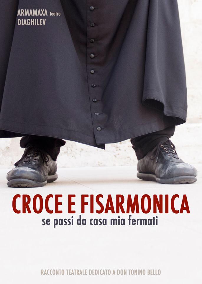"""""""Croce e fisarmonica"""", un racconto teatrale dedicato a Don Tonino Bello per la chiusura della stagione teatrale di Manfredonia"""