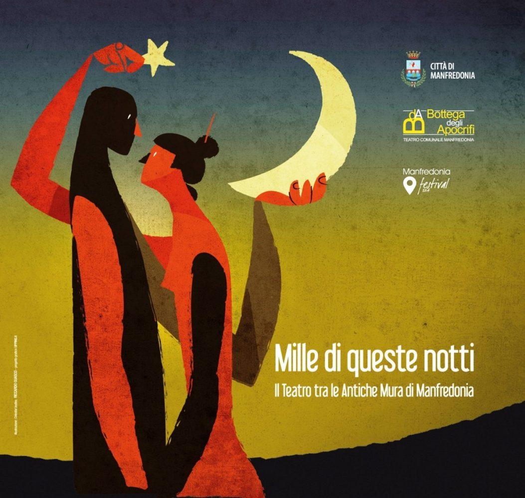 """""""Mille di queste notti"""", l'immagine della seconda edizione è un'illustrazione di Riccardo Guasco"""