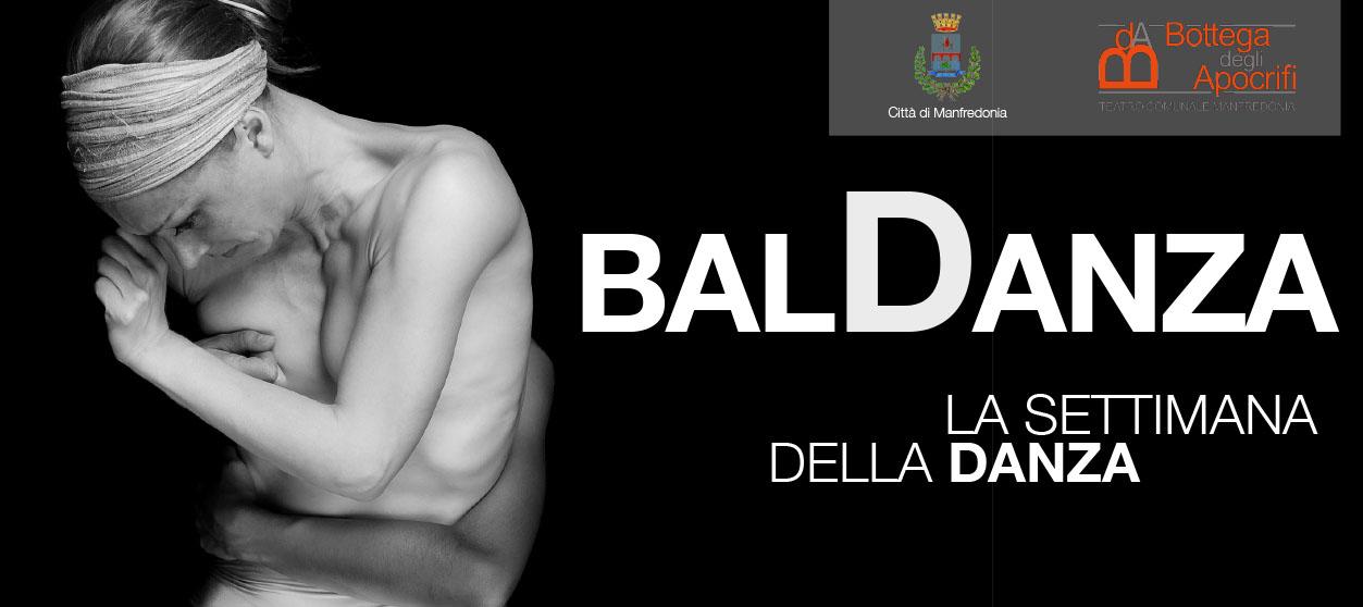 """""""BalDanza"""": dal 28 ottobre all'1 novembre la Settimana della Danza"""