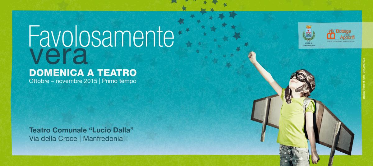 """""""Favolosamente Vera"""", il saluto del Sindaco Riccardi: """"Teatro efficace strumento di crescita"""""""