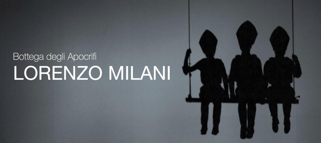 """""""Lorenzo Milani"""", il nuovo spettacolo di Bottega degli Apocrifi"""