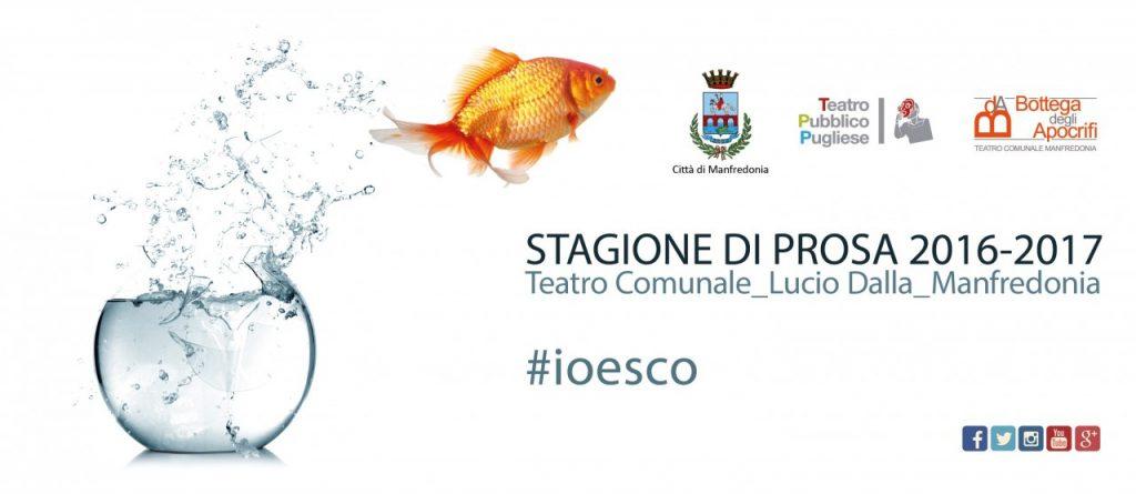 #IOESCO. Ultimo appuntamento il 24 Marzo 2017. Ed è già sold-out.