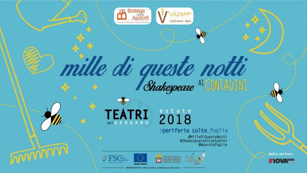 Mille di Queste Notti 2018 - Shakespeare ai Contadini