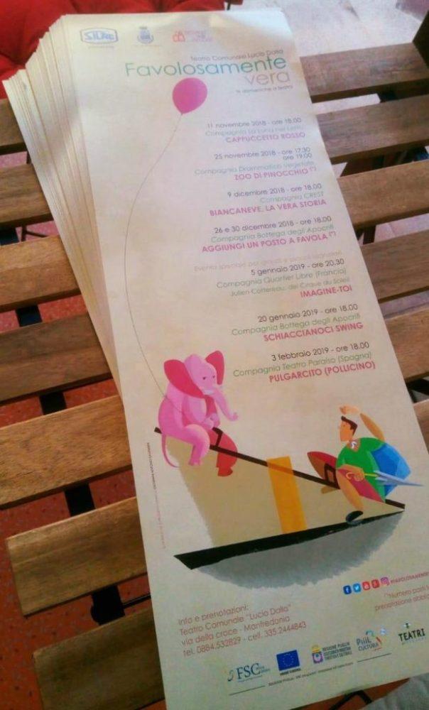 Favolosamente Vera 18|19 il teatro per le nuove generazioni