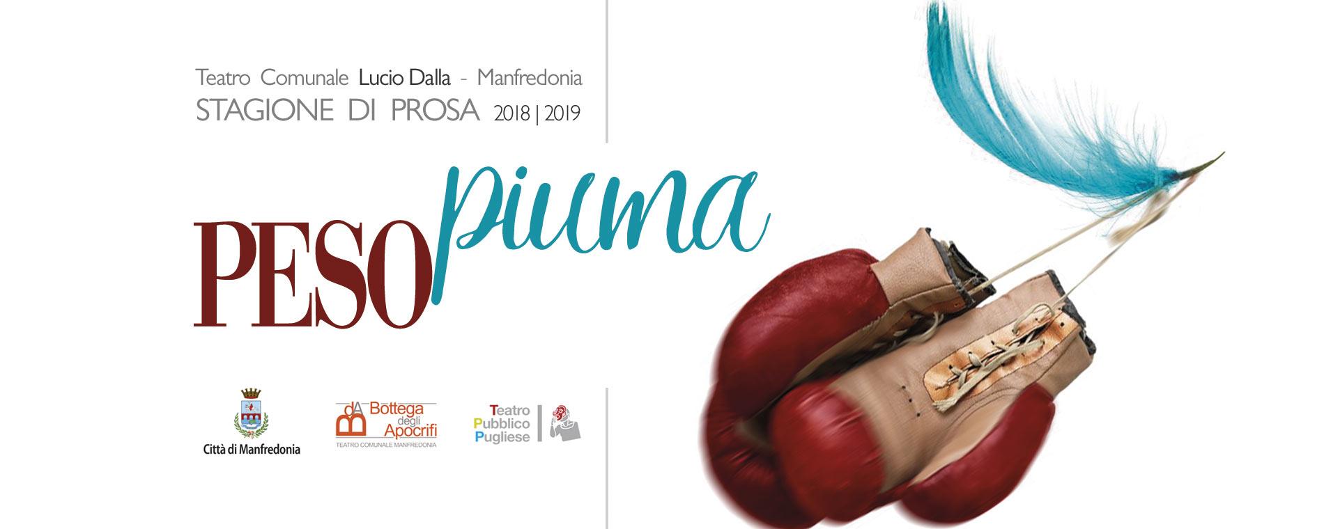 #pesopiuma La stagione teatrale 2018|2019